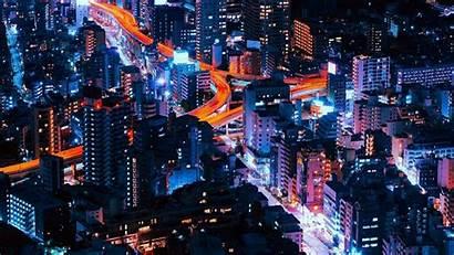 Neon Tokyo Lights Wallpapers Backgrounds Wallpaperaccess Tens