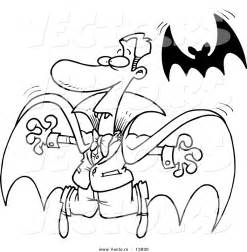 Cartoon Vampire Coloring Pages