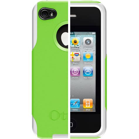 iphone 4 otterbox green white otterbox commuter for apple iphone 4