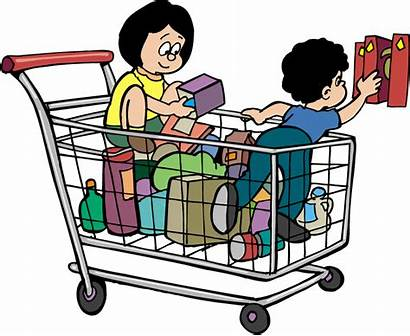 Clipart Grocery Shopping Theme Transparent Webstockreview Yellow