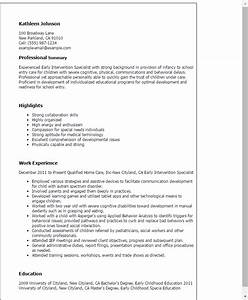 professional early intervention specialist templates to With intervention report template
