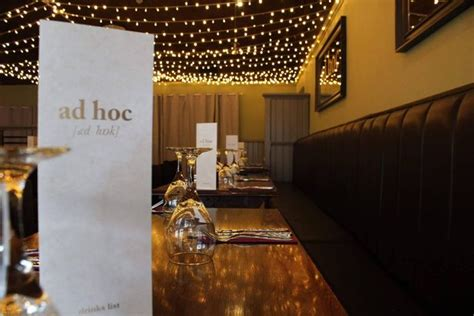 ad hoc cuisine five food and drink pop ups we can 39 t wait to try in