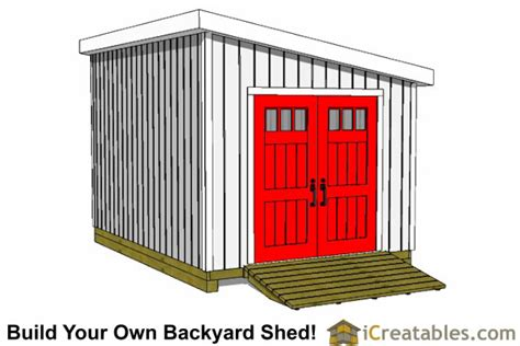 10x20 Storage Shed Plans by 10x20 Lean To Shed Plans Icreatables