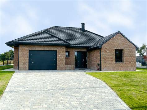 style de maison moderne plain pied maison contemporaine maisons d en nord