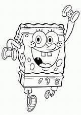 Spongebob Bob Sponge Coloring sketch template