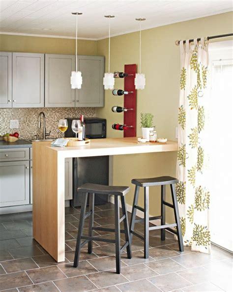 dekoartikel badezimmer bartisch mit hocker 40 coole ideen