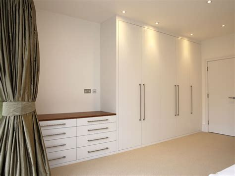 Diy Built In Bedroom Cupboards by Built Fitted Wardrobe White Chest Drawers Modern Bedroom