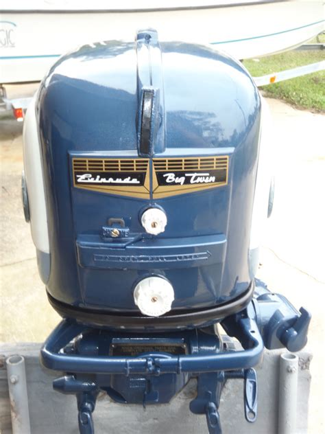 hp evinrude outboard antique boat motor  sale