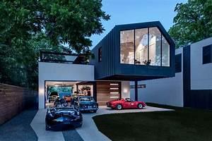 Garage Im Haus : diese garage im erdgeschoss setzt eine autosammlung in szene ~ Lizthompson.info Haus und Dekorationen