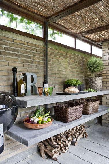 cuisine de jardin aménagement cuisine d 39 extérieur sous abris de jardin en