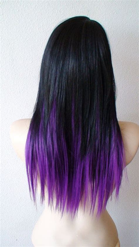 ideas  purple hair tips  pinterest