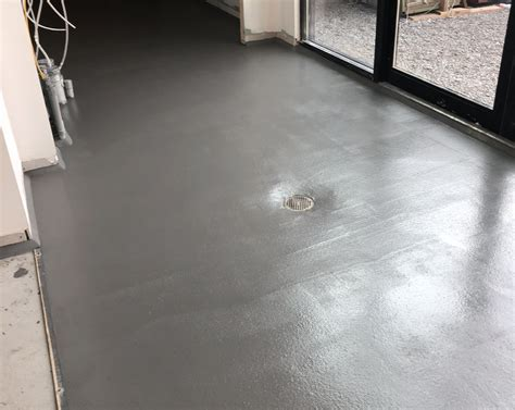 Field Brewing Ucrete Flooring Project Westfield, IN
