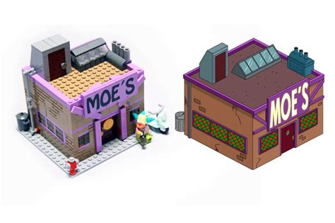 la maison des lego moes bar comp by pax the simpsons lego gallery