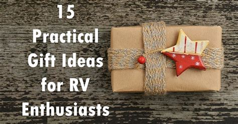 15 Practical Gift Ideas for RV Enthusiasts   Heartland