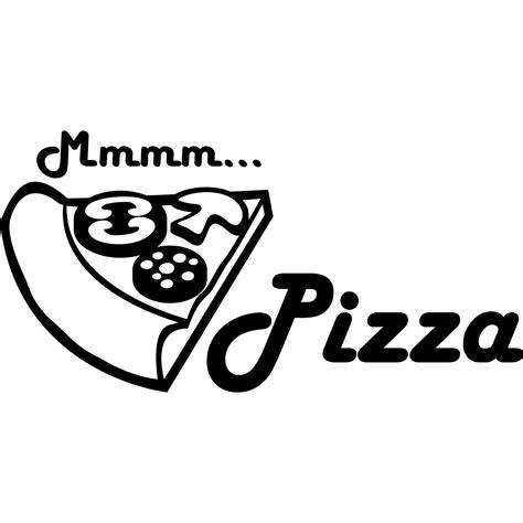 stickers pour cuisine stickers muraux pour la cuisine sticker mmm pizza