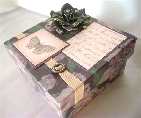 Decorated Gift Boxes - small gift box gift card box decorative box wedding box