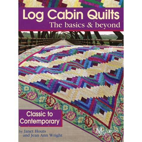 missouri quilt co daily deal log cabin quilts book landauer missouri quilt co