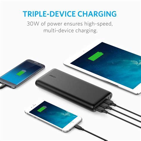 anker powercore 26800mah portable charger power bank cablegeek australia