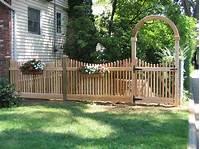 wood fence gates Wood Fence Photos