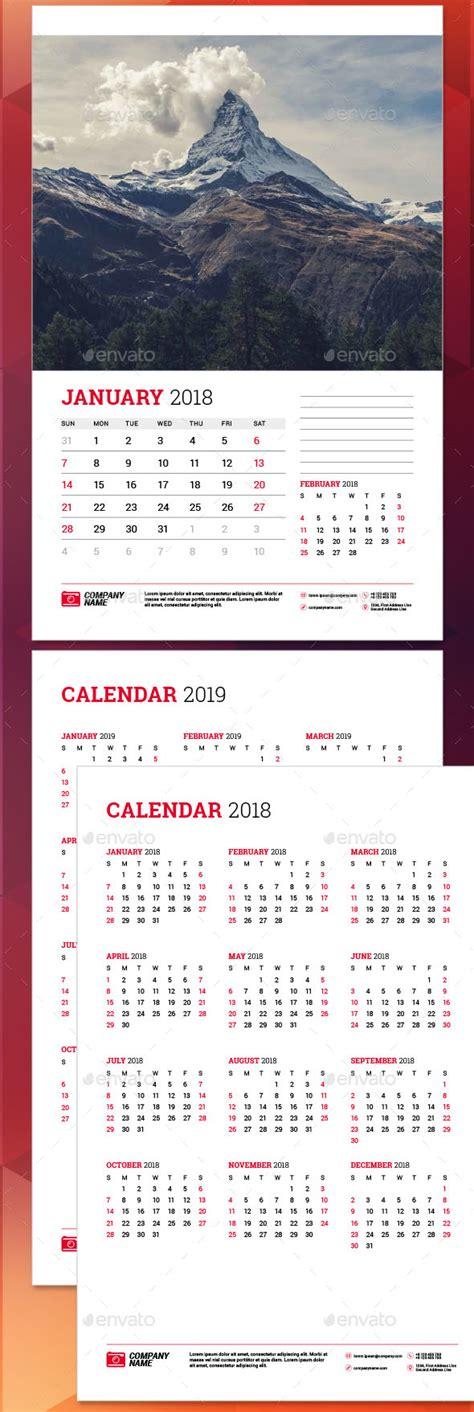calendar templates  psd vector indesign