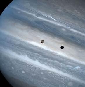 Io transit of Jupiter | ESA/Hubble