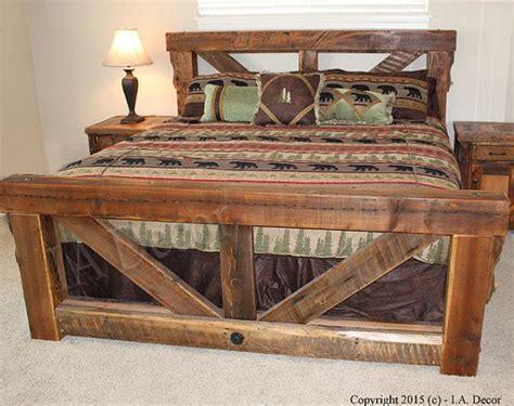 rustic bed frames ideas  pinterest diy bed frame pallet furniture bed plans