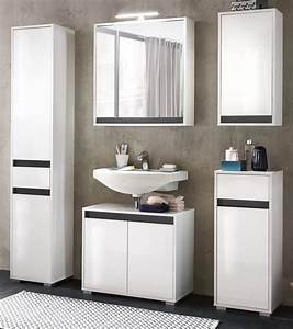 Waschbeckenunterschrank Weiß Hochglanz 60 : waschbeckenunterschrank sol echt lack hochglanz wei ~ Bigdaddyawards.com Haus und Dekorationen