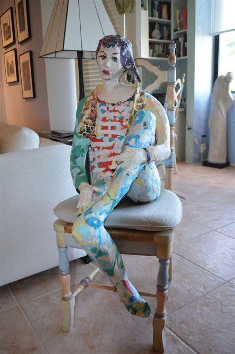 paper mache sculpture art examples