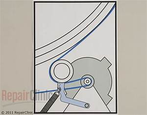 Solved  I Need A Diagram Of Dryer Drum Belt Placement On