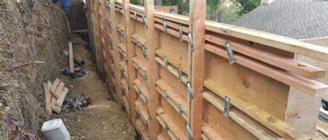 concrete forms for retaining walls how to build a concrete retaining wall all access constructionall access construction