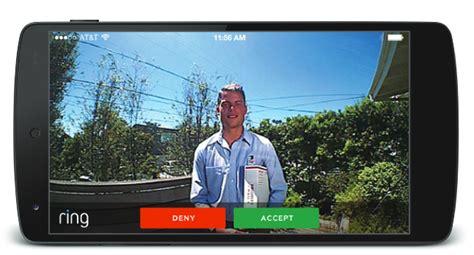 ring gegensprechanlage mit wlan und smartphone app