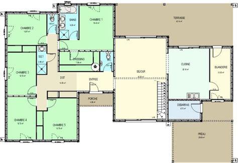 surface minimum pour une chambre construction 86 fr gt plan maison ossature bois avec