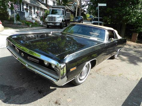 Convertible Chrysler 300 For Sale by 1970 Chrysler 300 Convertible For Sale