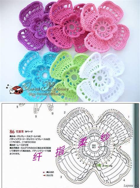 petal flower crochet pattern crochet kingdom
