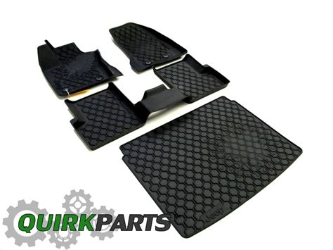 2015 Jeep Renegade Rubber Slush Floor Mats & Rear Cargo