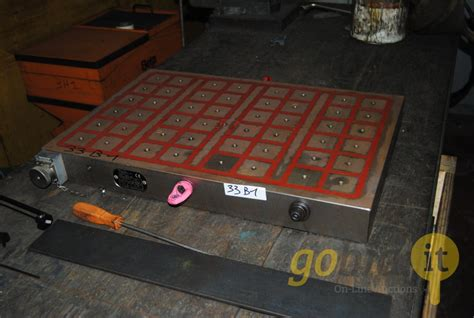 lot   magnetic clamping systems tecnomagnete gobidit