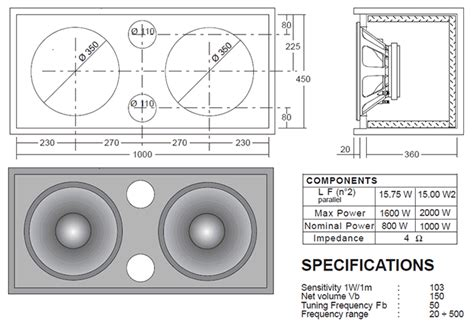 bass cabinet design making your own drafting table 15 bass speaker cabinet