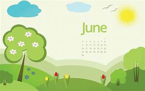 June 2017 Wallpaper Calendar For Desktop, Laptop & Mobile