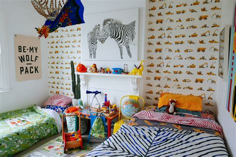 Wallpapers To Treat Your Kid's Bedrooms