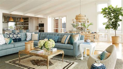 Casual Classic Southern House by 48 Beautiful Beachy Living Rooms Coastal Living