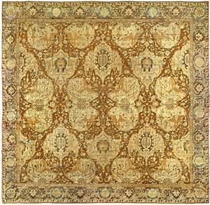 Antique rugs from doris leslie blau new york antique carpets for Indian carpet designs