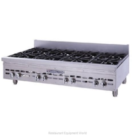 Bakers Pride Hdob848 Gas Open Burner Range  Countertop