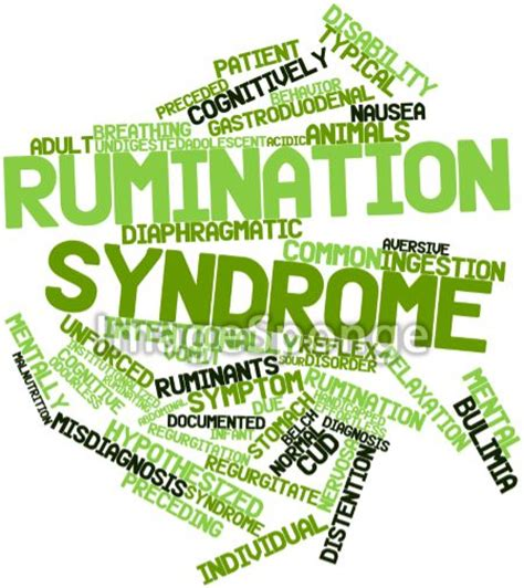 rumination syndrome