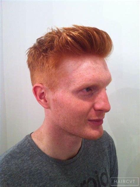 redhead red copper auburn hairstyles  london
