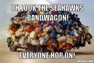 Seattle Seahawks Bandwagon Fans Memes