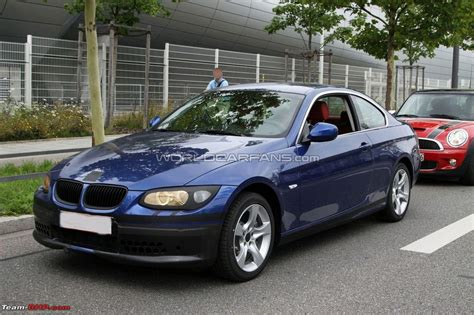 Bmw 3 Series Coupe And Convertible Facelift Team Bhp