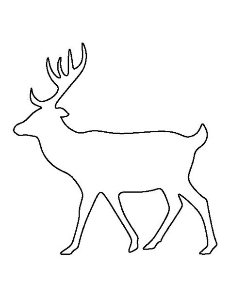 deer template 1000 images about templates patterns on crafts leaf template and trees