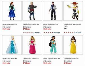 Disney Dolls (Including NEW Frozen Characters) $7 99