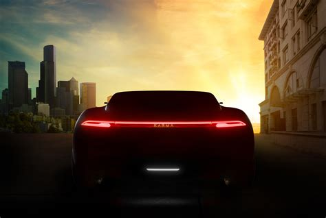 Update Motor Show 2019 : Karma Promises 3 Cars For 2019 Shanghai Auto Show