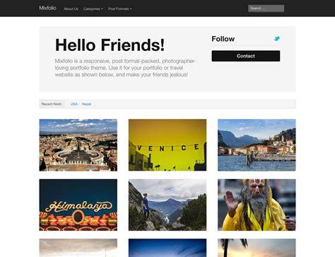 Free Portfolio Themes 30 Best Free Portfolio Themes 2016 Athemes